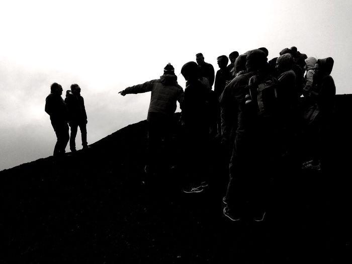 Etna Silhouette