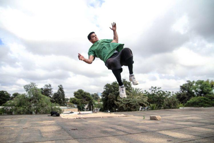 Frezz Backflip Parkour And Free Running Gravity First Eyeem Photo