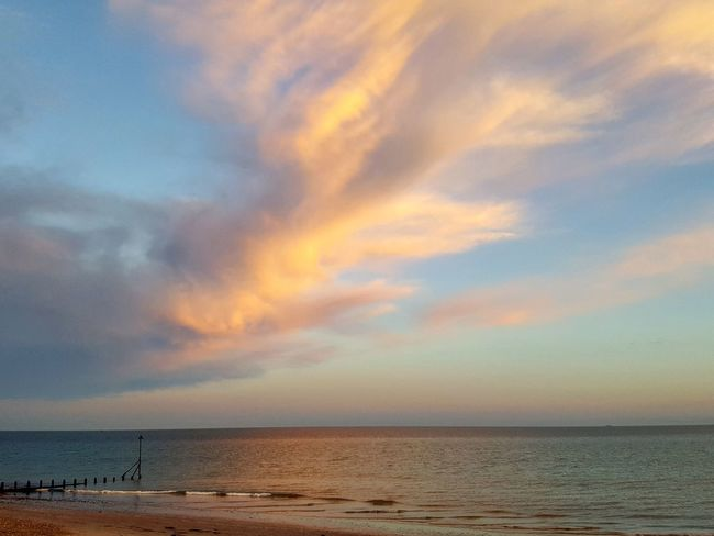 Beach Horizon Over Water Beauty In Nature Sky Calm Dramatic Sky Cloud Sea Live For The Story BYOPaper! EyeEmNewHere The Great Outdoors - 2017 EyeEm Awards