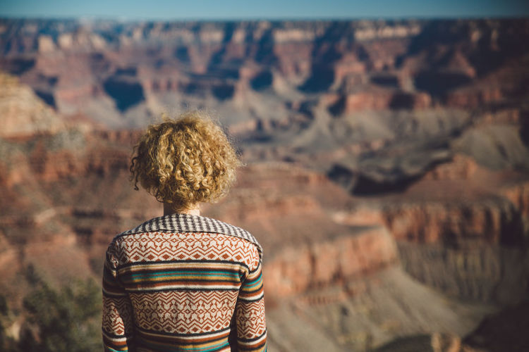 Arid Climate Arid Landscape Canyon Curly Hair Geology Girl Grand Canyon Grand Canyon National Park Landscape Mountains Nature Rock Formation Sunrise Valley Breathing Space An Eye For Travel The Great Outdoors - 2018 EyeEm Awards
