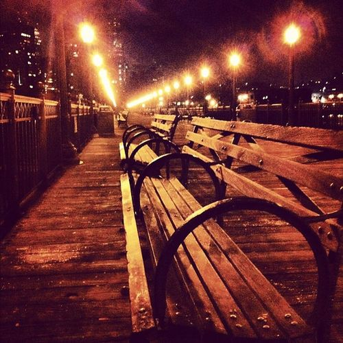 How many have seated here, thinking about future? NightRun