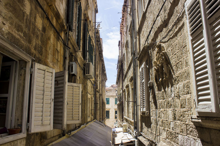 Architecture Old Town Built Structure Residential District Outdoors Street History Old No People City Sky Day Building