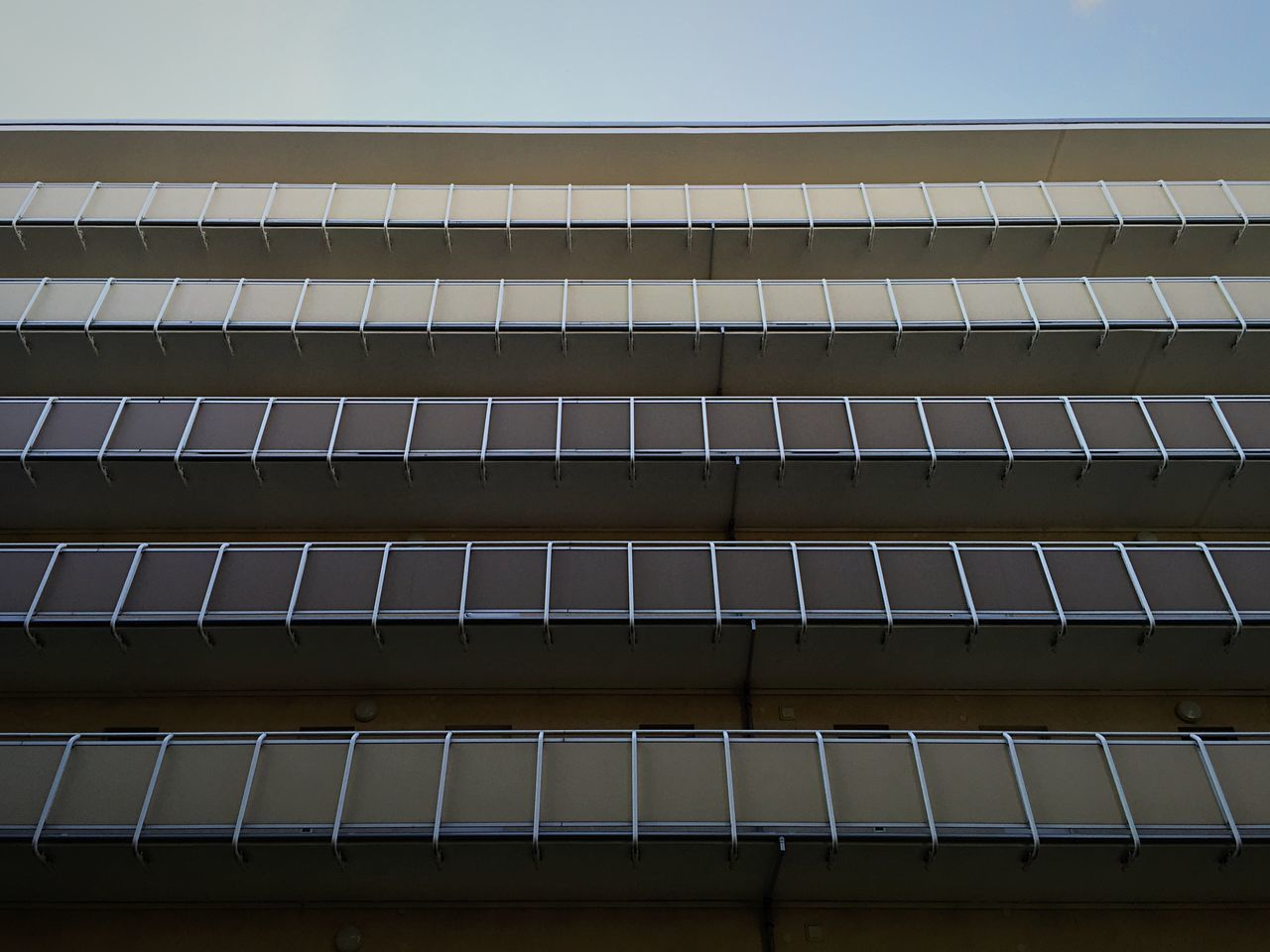 low angle view, no people, architecture, building exterior, outdoors, day, sky