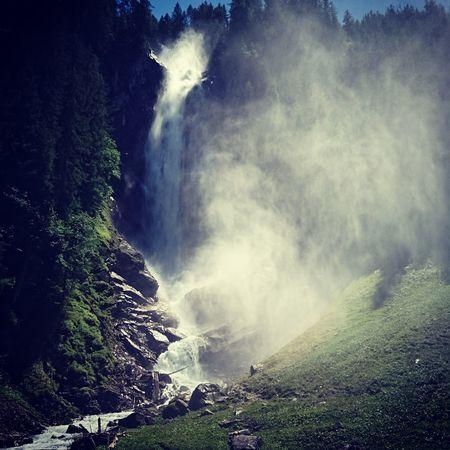 Wonderful Waterfall Iffigen Lenk Switzerland The Great Outdoors - 2017 EyeEm Awards