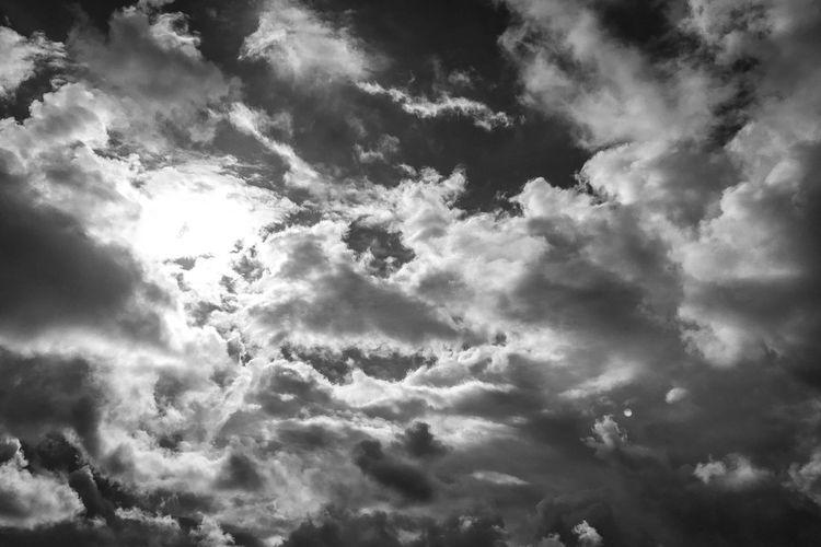 Beauty In Nature Nature Low Angle View Sky Cloud - Sky Scenics Backgrounds Majestic Sky Only Tranquility Atmospheric Mood Cloudscape No People Weather Outdoors Day Idyllic Full Frame Tranquil Scene