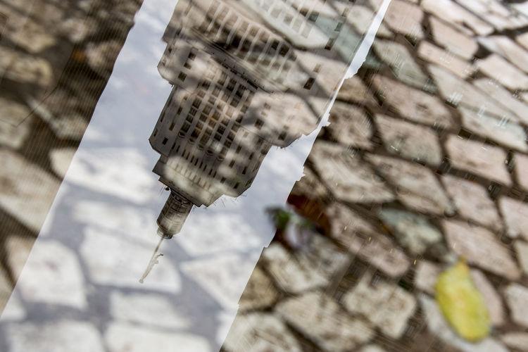 Architecture Detail Edifício Banespa Puddle Puddleography Reflection São Paulo Fine Art Photography
