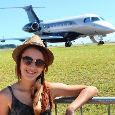 Minha filha @bversuri Temvalorpramim Embraer