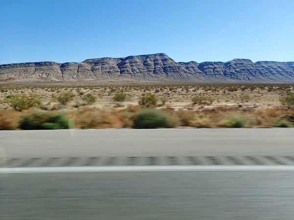 The Drive Clear Sky Nature Tree Day No People Landscape Beauty In Nature Tranquil Scene Scenics Outdoors Sky Mountain Arid Climate Roadtrip Roadtrippin' My View Outsidemycarwindow Arizona Travel Destinations Beauty In Nature Nature Clear Sky Motion Motion Blur