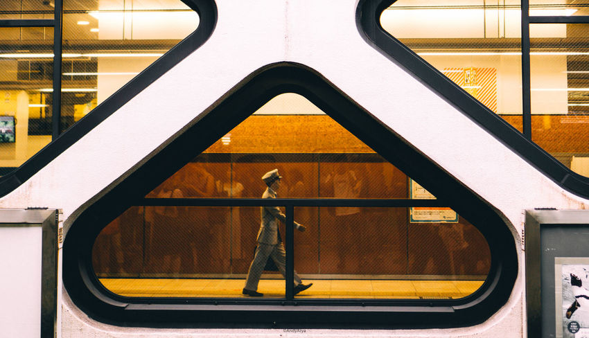 On duty 🚶 Transportation Built Structure Day Architecture Close-up The Week On EyeEm EyeEmPaid Walkingaround Station Outdoors Travel Photography Indoors  Japan Scenery 35mmphotography Streetphotographer The Street Photographer - 2017 EyeEm Awards
