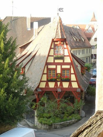 House Rothenburg Germany Traveling