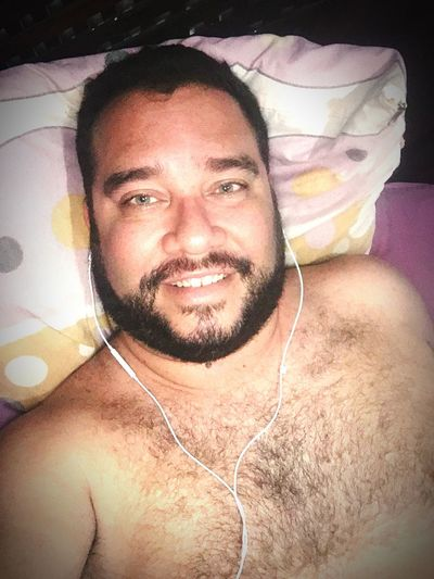 Relaxando 😉🐻 Ursoslindosdobrasil Barba Olhosverdes First Eyeem Photo