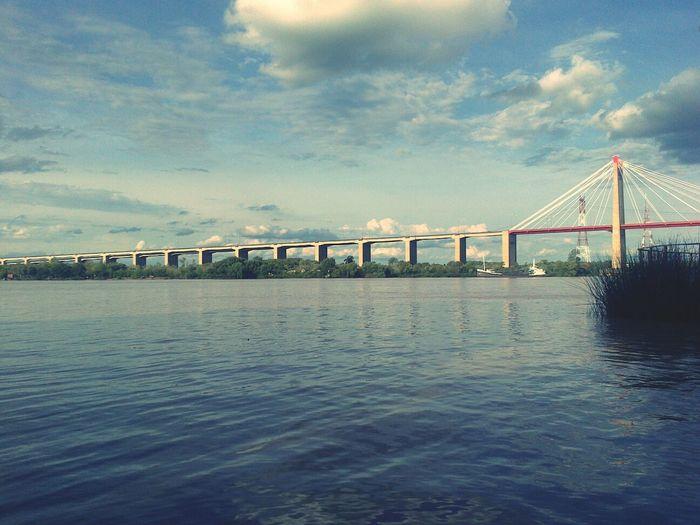 puente de Zárate, Costanera. Puente Rio Relaxing Costanera
