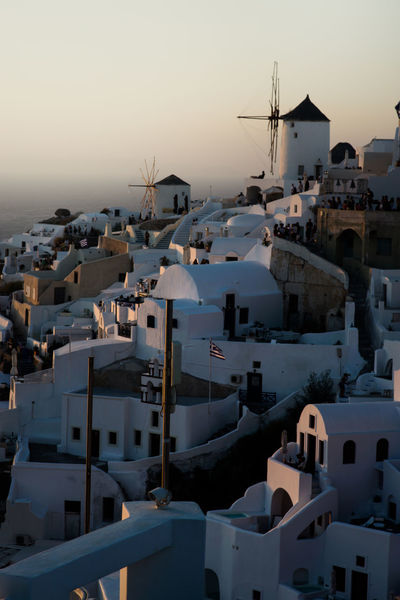 Blue Hour Griechenland Santorini Greece Architecture Building Exterior Built Structure City Clear Sky Day Nature No People Outdoors Residential Building Santorini Santorini View Sea Sky Sunset Town Travel Destinations White Houses Whitewashed Wind Power Wind Turbine Windmill