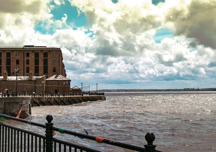Merseyside Maritime Museum Maritime Merseyside Mersey Albert Docks Liverpool, England Liverpool Buildings & Sky Clouds Building Clouds And Sky Old Building  Liverpool Docks