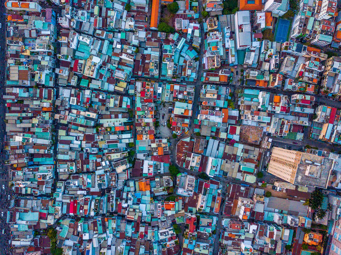 DJI Mavic Pro DJI X Eyeem Drone  Abundance Architecture Backgrounds Building Building Exterior Built Structure Chaos City Day Dronephotography Full Frame Large Group Of Objects Multi Colored No People Outdoors Travel Destinations Variation Water