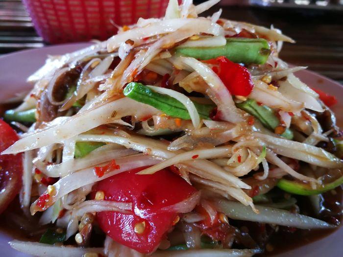 Somtam Papaya Salad Papaya Pok Pok Papayapokpok Somtum Somtumthai Somtum Pu-plarha Thai Food First Eyeem Photo