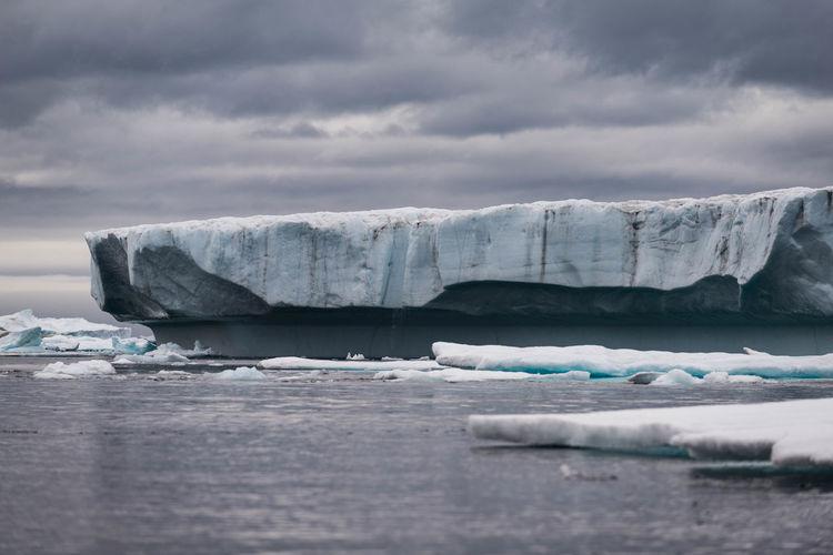 Scenic View Of Glacier