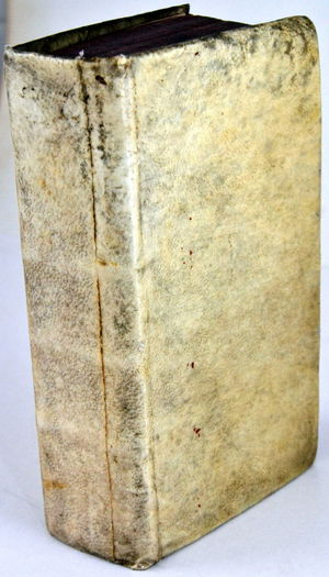 Antique Book Blank Close-up No People Old Book Old Book Shop Old-fashioned Paper Textured  Vellum Cover
