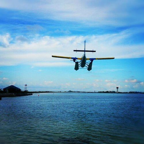 Landing Airtaxi Tma Maldives