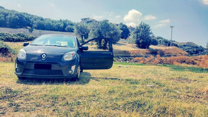 The Drive Car Transportation Sunlight Mode Of Transport No People Sky Nature Outdoors Day Renaultclub Renaulttwingo Renault