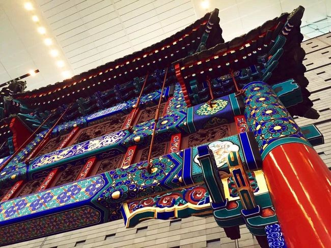Beijing No People Low Angle View Indoors  Multi Colored Day Close-up