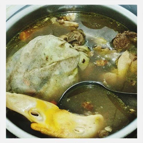 薑母鴨 Food