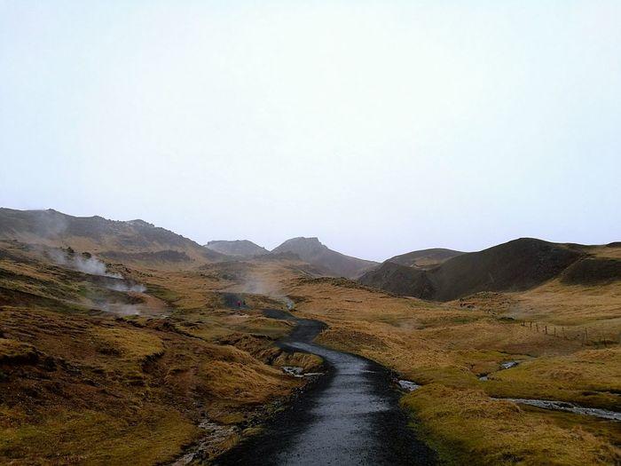 Road to Nowhere Mountain Landscape No People Hannallaysadventure Icelandic_explorer Iceland, Reykjavik