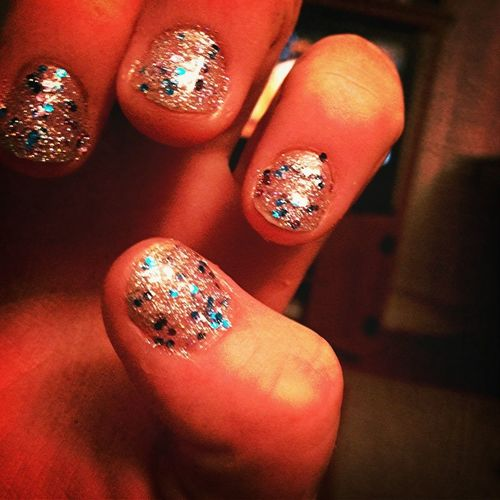 Confetti Nails! ✨
