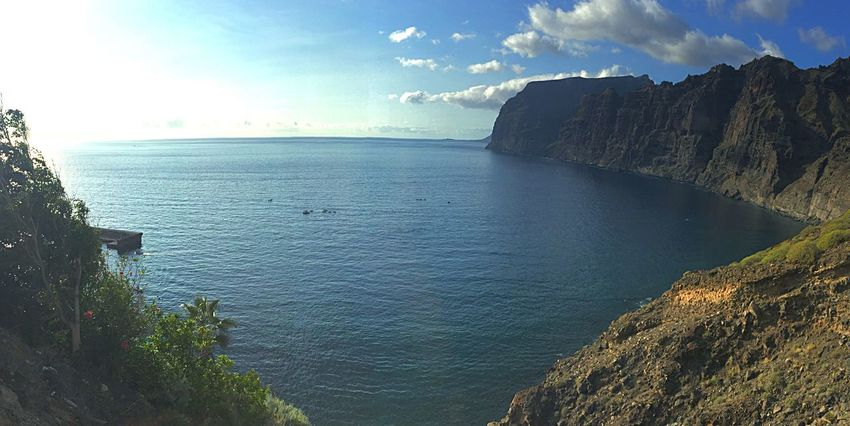 Tenerife Islas Canarias Canarias Canary Islands Island Islandlife Paradise Iphonephotography IPhoneography Mar Sea Enjoying Life Acantilado Cliff Sun Sky Sea And Sky