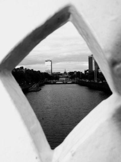 Point of view, Dublin. Shot taken years ago Dublin Dublin, Ireland Ireland Eire River Liffey Liffeyriver Liffeybridge Biancoenero Black & White Blackandwhite Photography Black And White Photography Shadows & Lights Contrast Bianco E Nero Black And White Blackandwhite Luci E Ombre
