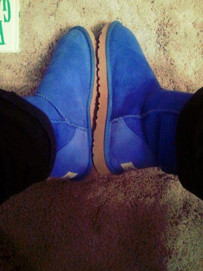 My Blue Babies (: Uggs !