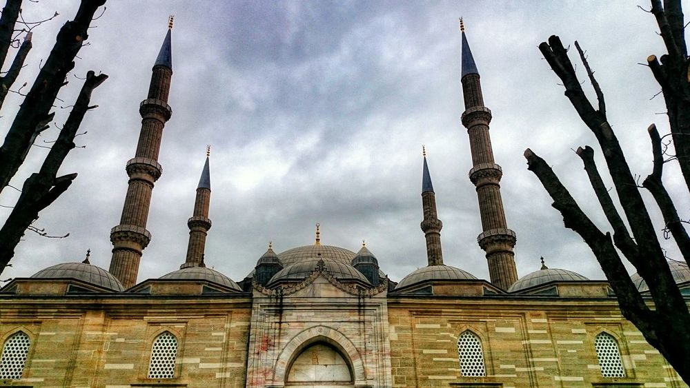 Photooftheday Cityscapes Photographer Urban Geometry Historic City Edirne Mosque Beautiful Day Streetphotography Street Photography
