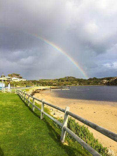 Rainbow at the