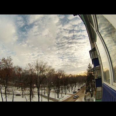 Gopro Hero3 Gopro2014 Sky good day winter photo phototheday russia art snow Россия небо фото арт день зима снег str стр стерлитамак 102