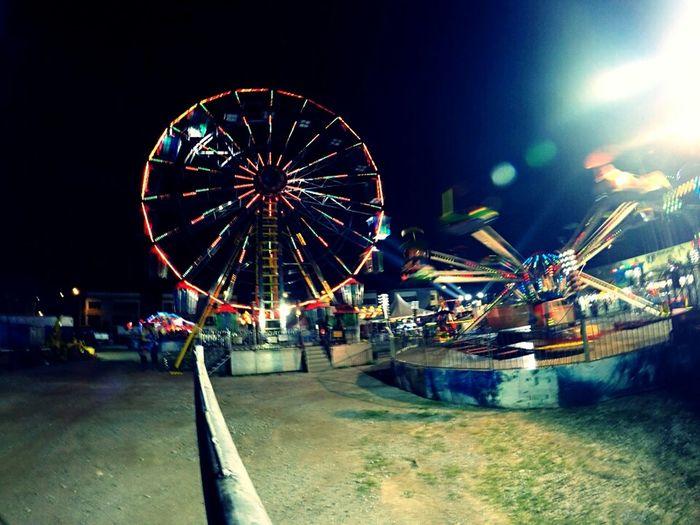 Ferris Wheel.. -A night at Carnival. First Eyeem Photo
