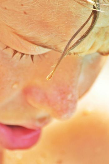 Child Macro Photography Pic Of The Day Photography Sohn  Water