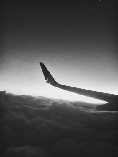 Plane view. From An Airplane Window Airplane Skybeds Blackandwhite Blackandwhite Photography Clouds And Sky