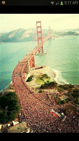 They Stood On The Golden Gate Bridge For. Trayvon Martin ... R.I.P. Trayvon Martin