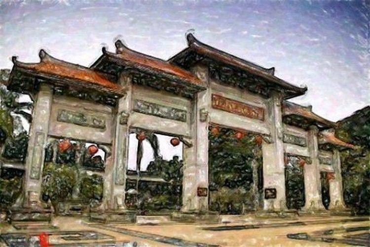 Mencoba tehnik paint moga berkenan Arteurope ArtWork Artindonesia Artpaint Painteditmyself Paint Paintclasic Lukisan Artword Art Artist Artistic Abstract Abstractart Absurd A Panorama Landscape