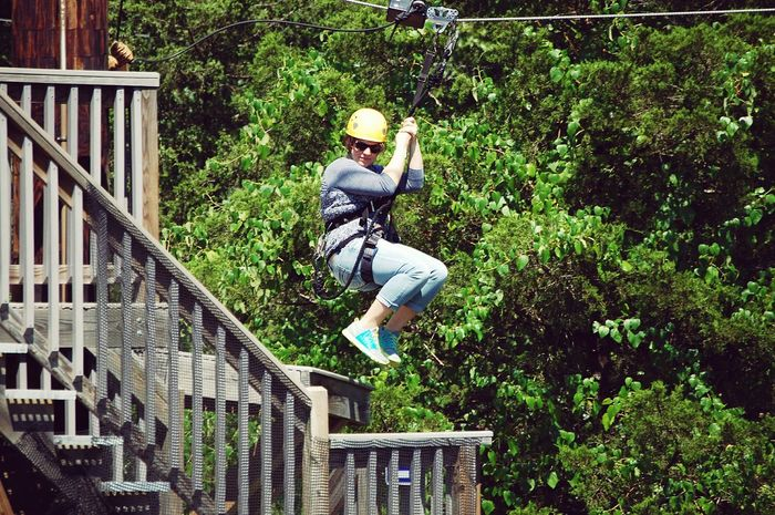 On The Move Such a thrilling experience!!! Ziplining Summer Memories Adventures Missouri Blessed  Canopy Trail Amazing Experience Done That.