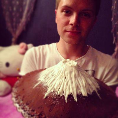 Birthday Cake Cooking Cakes Mount Fuji Japan