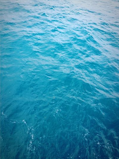 Deep blue. Sea Water Nature Backgrounds Beauty In Nature High Angle View Full Frame No People Waterfront Day Close-up Wave Freshness Outdoors Scenics Ocean Ocean View Flying High Break The Mold The Great Outdoors - 2017 EyeEm Awards