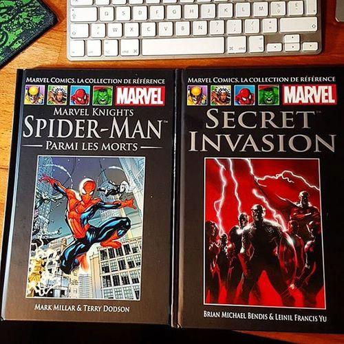 Arrivage Comics du jour : collection Hachette Marvel avec MarvelKnights Spider -Man Parmis les morts ! Et SecretInvasion