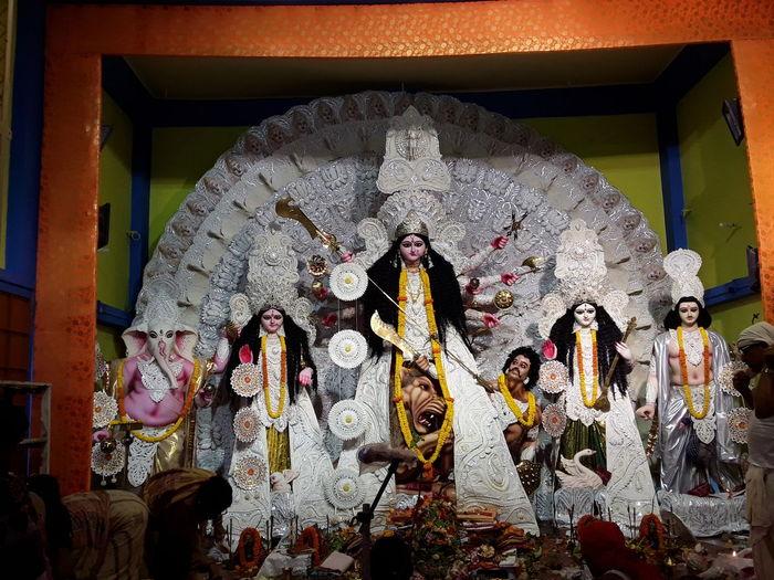Architecture Art Art And Craft Creativity Culture Day Durga Puja 2016 Durgamaa Durgapuja Durgotsav Godess Durga Idol Place Of Worship Religion Spirituality Statue