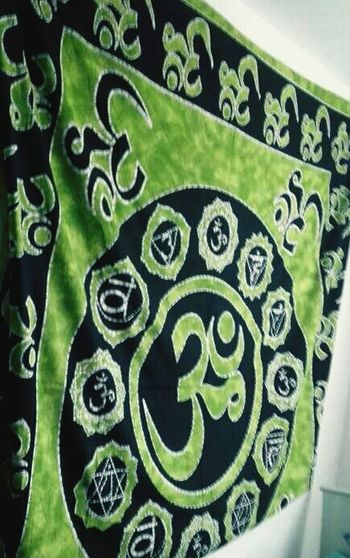 Tenture Symbole Green Weed Détente