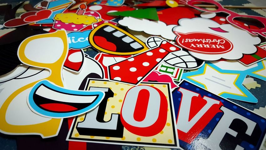 Making of .... No People Personal Perspective My Point Of View Hello World Fresh On Eyeem  Showcase December Check This Out The Week Of Eyeem Handmade For You Close-up Indoors  Photoboothprops Cutting Printworks Upcoming Event Multi Colours Colourful For Kids