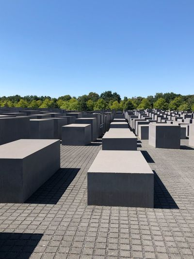 Berlin Holocaust Mahnmal City Blue Sky Berlin Mitte Holocaust Memorial Holocaust Memorial Holocaust Berlin Sky Sunlight Nature Clear Sky Plant Day Shadow Outdoors No People Architecture Sunny