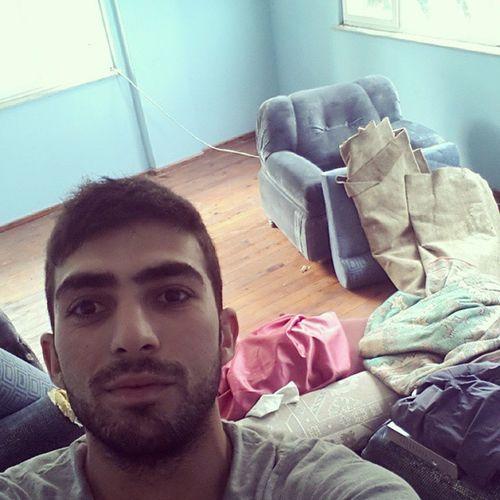 Simdi evi temizleme zamani Cok Hamaratim Bugün :)