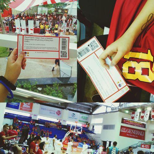 SaiGonHeatVSMalaysiaDragons AsianBasketballLeague Playoff Lostbuttriedtheirbest #redstadium