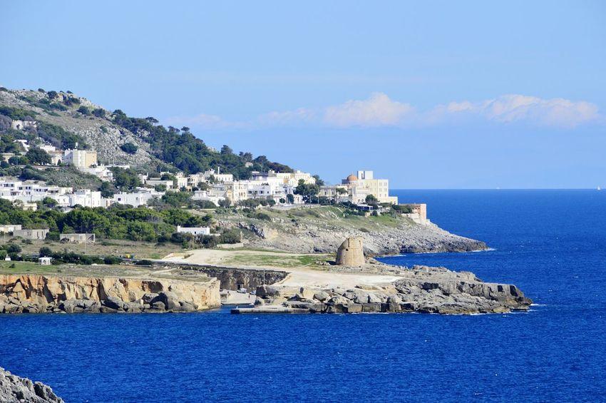 Costa Salentina Nature Sea Tranquil Scene